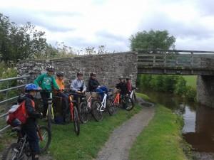 Cycling Brecon Cannal